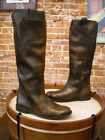 Frye Paige Tall Dark Brown Leather Riding Boots NEW