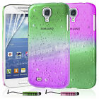 New Hard Back 3D Raindrop Case Cover For SAMSUNG GALAXY S4 IV Mini i9190
