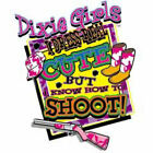 "Dixie Girls "" I DRESS CUTE BUT KNOW HOW TO SHOOT ""  50/50 Gildan/Jerzees T SHIRT"