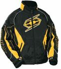 NON CURRENT CASTLE SNOWMOBILE MEN'S SWITCH-12 JACKET YELLOW