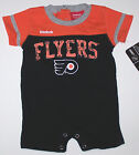 Nwt New Philadelphia Flyers Logo Romper Shortalls Creeper NHL Hockey Orange Cute $12.99 USD on eBay