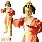 Hong Kong Phooey Mens Fancy Dress Animal Cartoon Character 1970s Adults Costume