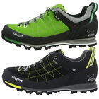 Salewa MS MTN Trainer GTX Pelle Mens Hiking Shoes Goretex Walking UK 8 10.5 11