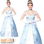Sexy Cinderella Ladies Costume Fairytale Storybook Womens Fancy Dress Outfit New