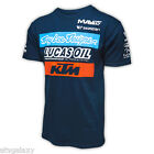 Troy Lee Designs TLD KTM Racing Team Tee Shirt NAVY Motocross Lucas Oil 7012503