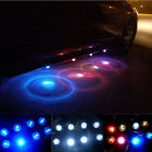 Tide 2 Group Waterproof Multi-Colors Decoration Atmosphere Car LED Light