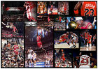 MICHAEL JORDAN CHICAGO BULLS SIGNED NBA MATTED MONTAGE PHOTOGRAPH