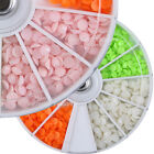 Nail Art Tips 3D Decoration Candy Solid Color Jelly Rhinestone Resin Matte Gems