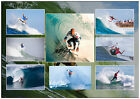 KELLY SLATER SURFING CHAMPION SIGNED SURFING MATTED PHOTOGRAPH