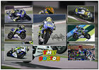 VALENTINO ROSSI SIGNED MOTO GP MATTED MOTOR RACING PHOTOGRAPH