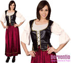 Ladies Medieval Tudor Lady Maid Fancy Dress Costume Outfit NEW 12-14 18-20 PLUS