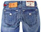 NEW TRUE RELIGION MEN'S PREMIUM DENIM JEANS RICKY SUPER T STRAIGHT LEG SIZE 30