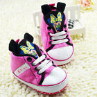 Toddler Baby Girl 3D Minnie Mouse Crib Shoes Sneakers  0-6 6-12 12-18 Months /V