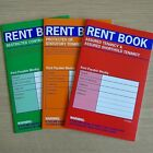 NEW - RENT BOOK - Landlord Tenant Letting Books - Contract Tenancy Legal Housing