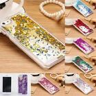 Clear Dynamic Liquid Glitter Colored Paillette Quicksand Case Cover For iPhone 5