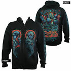 Authentic THE BLACK DAHLIA MURDER Phibes Zipup HOODIE S M L XL XXL Official NEW