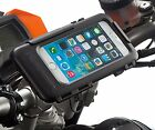 Motorcycle Handlebar Helix Bike Strap Mount + Waterproof Case for iPhone 6 4.7
