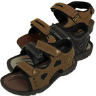 Mens Velcro Sports Beach Sandal Walking Hiking Trek Sandals Summer Shoes New