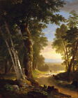 Canvas Art Print Classical Landscape Oil painting Picture Printed on canvas P033