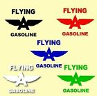 Flying A Gasoline' Vinyl Letters Signs Decals Gas Globes Motor Oil