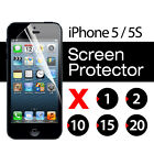 5 / 5S Screen Protector Guard Film iPhone Clear bulk lot
