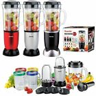 21PC MULTI BLENDER CHOPPER FOOD PROCESSOR JUICER SMOOTHIE MAKER KITCHEN MIXER