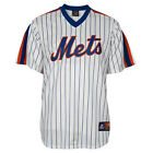 New York Mets Cooperstown Replica MLB White Pinstripe Jersey