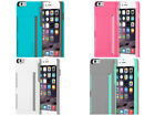 """New Incipio STOWAWAY Credit Card Case With Kickstand iPhone 6 PLUS -5.5"""" Colors!"""