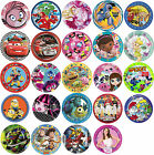 8 PAPER PLATES (23cm) LICENSED CHARACTER DESIGNS Range (Birthday Party){SetC}