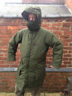 Swedish Army M90 Winter Quilted Winter Snow Parka Integrated Quilted Snow Hood