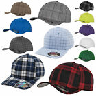 Originale FLEXFIT CAP Berretto da baseball PLAID/TESSUTO A RIGHINE SOTTILI/