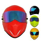 Motorcycle Outdoor Sports Racing Steel Fiber Glass ATV-4 Helmet Full Open Face