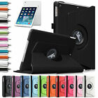 360 Rotating PU Leather Case Smart Cover Swivel Stand For New Apple iPad Air 1st