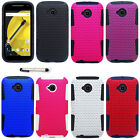 Apex Hard Cover Silicone Case For Motorola Moto E 2 LTE XT1527