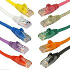 CAT6 RJ45 Ethernet Network Patch Lead Cable Cat 6 0.25m to 5m 10 Colours
