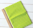 1 PCS Green Pre-Cut Plain Cotton Quilt cloth Fabric for Sewing 7 Style S32