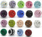 2pcs New Dense Rhinestone Ball Beads 10mm M0014