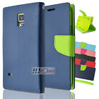 For LG L90 SERIES CT2 Fitted Leather PU WALLET POUCH Case Cover Colors