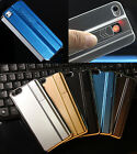 2in1 Cool Design Phone Case Cigarette Lighter Metal Cover for iphone5S/6 Samsung