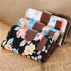 Magnetic Wallet Flip Stand Jacquard Leather Cover Case For Apple iPhone 5/5S New