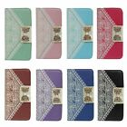 BowKnot Lace Wallet Leather Case Cover for Samsung Galaxy Note Edge N9150 Tide
