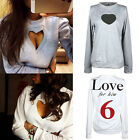 New Fashion Womens Long Sleeve Shirt Casual Blouse Tops Shirt Clothing Vogue