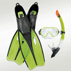 Dream Diver Scuba Dive Swim Set Mask Fins Flippers Goggles Snorkel LARGE