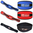 "Weight Lifting Belt Gym Back Support Fitness Body Building Belt  6.5"" WIDE"