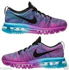 NIKE FLYKNIT AIR MAX WOMENS MESH M FUCHSIA BLACK CLEARWATER NEW IN BOX SIZE