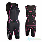 More Mile Ladies Padded Triathlon Tri Suit Duathlon Running Cycling Swim Tritard