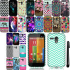 For Motorola Moto G Falcon XT1032 Cute Design TPU SILICONE Soft Case Cover + Pen