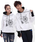 4 Colors Fashion Lovers Couples Hoodie Sweater Coat warm Thick Women Men LWB6080