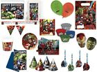 OFFICIAL MARVEL AVENGERS ULTRON IRON HULK  KIDS BOYS PARTY RANGE ITEMS TABLEWARE