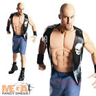 Stone Cold Steve Austin Mens Fancy Dress WWE Sports Wrestling Adults Costume New